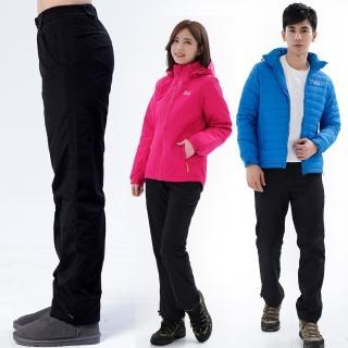 【遊遍天下】中性款極暖防潑水防風刷毛褲雪褲GP20009(S-5L)