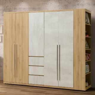【Homelike】佳梨8尺組合衣櫃