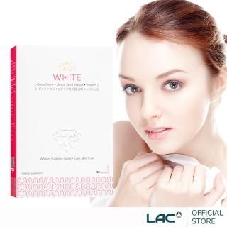 【GNC 健安喜】LAC Taut White 回原皙飲品 30包/盒(穀胱甘月太/葡萄籽/維生素C)