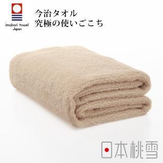 【日本桃雪】日本製原裝進口今治超長棉浴巾(咖啡色)