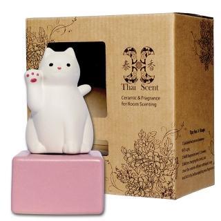 【Thai Scent 泰香】lucky cat擴香精禮盒(3款香氣任選)
