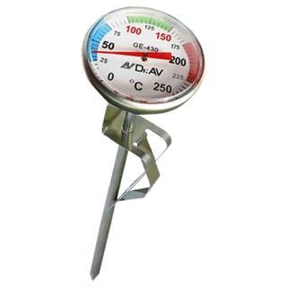 【Dr.AV 聖岡科技】平底鍋專用溫度計(GE-430)