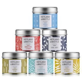 【H&W 英倫薇朵】HOME系列香氛燭罐180g(8款任選)
