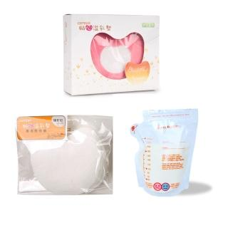 【COTEX 可透舒】母乳組(環保溢乳墊+補充包+母乳冷凍袋40入)