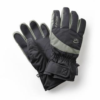 【ROUTEEIGHT】KORUS PRIMALOFT 可觸控滑屏 防水保暖手套(黑色)