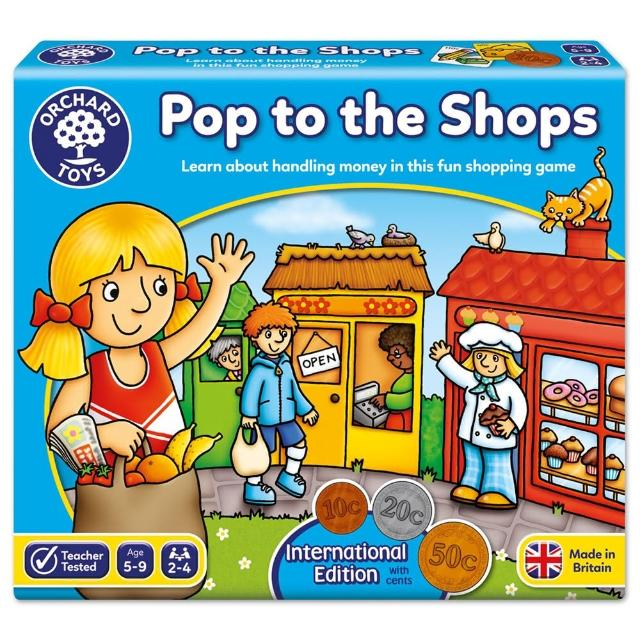 【Orchard Toys】幼兒桌遊-我會購物(International Pop to The Shops)