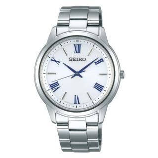 【SEIKO 精工】SPIRIT 太陽能時尚手錶-銀38.8mm(V131-0AG0S/SBPL007J)