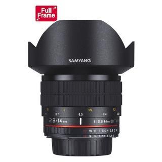 【韓國SAMYANG】14mm F2.8 ED AS IF UMC AE 手動對焦鏡頭(公司貨 Sony-E接環)