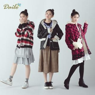 【Dailo】日雜首選冬季實穿-大衣外套(共3款選)