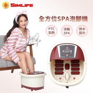 【SimLife】中桶氣泡活氧全方位SPA泡腳機(顏色隨機/泡腳機/泡腳/SimLife)/