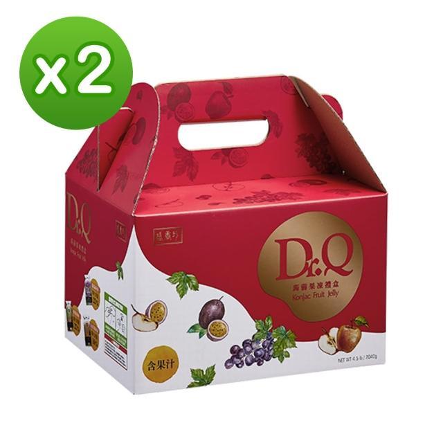 【盛香珍】DR.Q 蒟蒻果凍量販盒2040gX2盒入(約108小包入/3種口味)