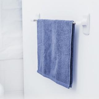 【3M】無痕防水收納-浴室毛巾架 免釘免鑽