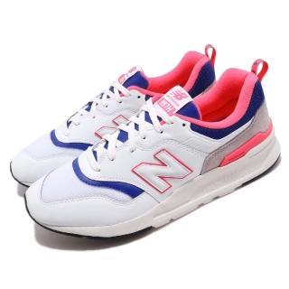 【NEW BALANCE】慢跑鞋 CM997HAJD 低筒 運動 男鞋 紐巴倫 輕量 透氣 舒適 球鞋 穿搭 白 藍(CM997HAJD)