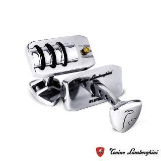 【藍寶堅尼Tonino Lamborghini】STRADA 袖釦 防抗過敏 SUS316L頂級不鏽鋼 義大利精品
