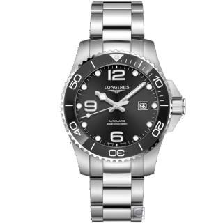 【LONGINES 浪琴】康卡斯潛水運動機械錶(L37824566)