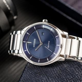 【CITIZEN 星辰】Eco-Drive 簡約質感光動能腕錶(BM7400-80L)