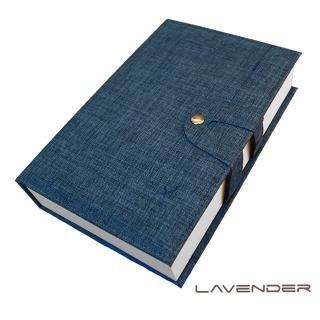 【Lavender】經藏書眼鏡收納盒-藍(收納盒)