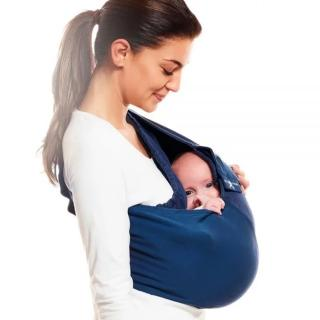 【Wallaboo】袋鼠背巾 單色系(正宗哄睡神器 行動搖籃)