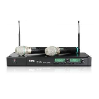 【MIPRO】ACT-35B(雙頻道自動選訊無線麥克風系統)