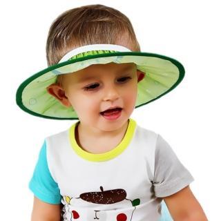 【JoyNa】嬰兒洗頭帽子水果圖案高彈性可調節洗髮帽 剪髮帽(兩入組)