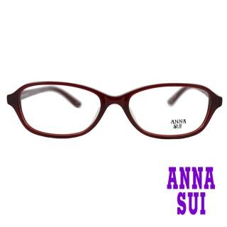~ANNA SUI 安娜蘇~日系幾何圖形細框 光學眼鏡~紅 AS585~279