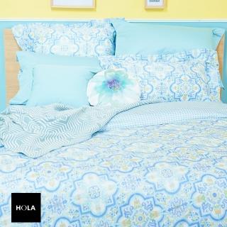 【HOLA】錫蘭木棉絲床包兩用被組雙人