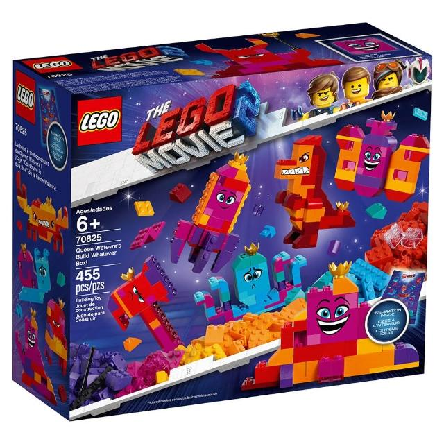 【LEGO 樂高】樂高 LEGO Movie 樂高玩電影系列 - Queen Watevras Build Whatever Box 70825(70825)