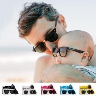 【Hipsterkid】抗UV偏光嬰幼兒童太陽眼鏡-繽紛(附固定繩)