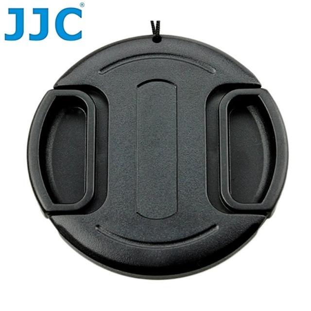 【JJC】無字中捏快扣34mm鏡頭蓋LC-34(B款附孔繩34mm鏡頭保護蓋lens