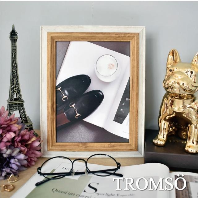 【TROMSO】巴黎撞色木紋6x8相框-原木(相框單框壁飾相框)/
