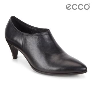【ecco】ECCO SHAPE 45 POINTY SLEEK 高雅尖頭正裝高跟鞋 女(黑 26440301001)