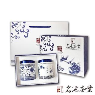 【2019送禮首選】名池茶葉福壽梨山極品手採茶葉禮盒任選2盒組