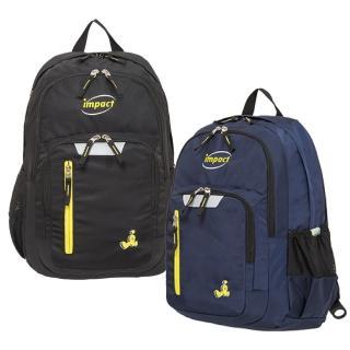 【IMPACT 怡寶】彈力氣墊機能款後背包-三色可選(IM00R09)