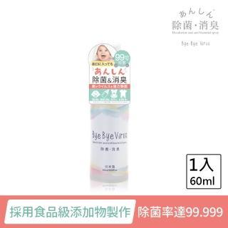 【日本bye bye Virus】除菌消臭噴霧(60ml)