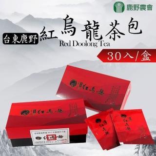 【鹿野農會】紅烏龍茶包-2.5g-30入-盒(2盒一組)
