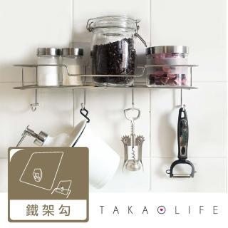 【TakaoLife 高尾生活】高分子無痕掛勾-萬用鐵架勾型歡樂動物園彩色版