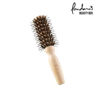 【Pandora's Beauty Box 潘朵拉的美妝盒】101亮髮造型梳-迷你(圓梳/捲梳/美髮梳/捲髮梳/豬鬃梳子/髮梳)