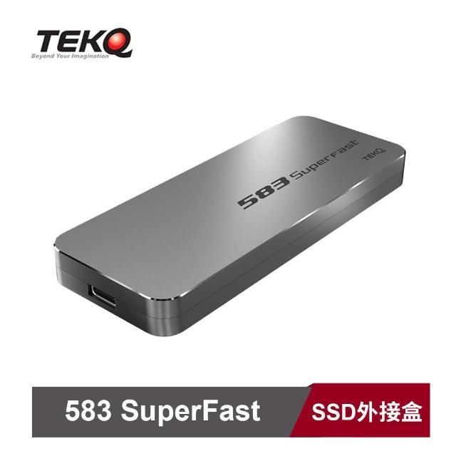 【TEKQ】Type C USB 3.1 Gen 2 to PCIe Gen3X2 10Gbps M.2 NVMe SSD 外接盒(2色)