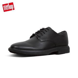 【FitFlop】HENRI LEATHER OXFORD SHOES(黑色)