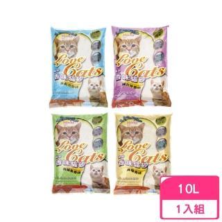【MORES 摩爾思】香味貓砂《球砂/細砂》10L