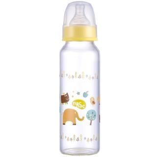 【nac nac】吸吮力學標準輕量玻璃奶瓶(240ml)
