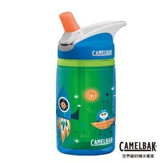 【CAMELBAK】400ml eddy 兒童吸管雙層隔溫運動水瓶 太空探險(CB1305403040)