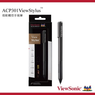 【ViewSonic 優派】ViewStylus Surface Pen 手寫筆(ACP301酷灰)