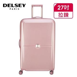 【DELSEY 法國大使】TURENNE-27吋旅行箱-粉紅(00162182109)