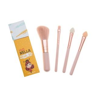 【英國 MISS NELLA】Miss NELLA 兒童化妝刷具組(兒童水性化妝品)