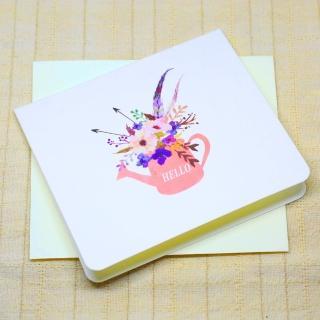 【輕靈之森】輕靈卡片•花藝系列•感謝卡(卡片、花藝)