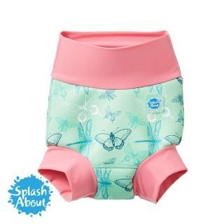 【Splash About 潑寶】3D加強版 游泳尿布褲(花漾蜻蜓)