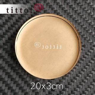 【tittot 琉園】壓克力底座(20x3cm中圓)
