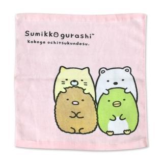 【角落生物】角落小夥伴可愛萬用方巾3條入