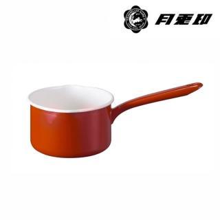 【JIA Inc 品家家品】月兔印 - 琺瑯單手牛奶鍋14cm 紅色(1.2L)